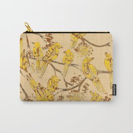 Feathered Friends Batik Carry-All Pouch