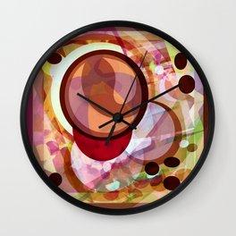 Cabsink16DesignerPatternCHLY Wall Clock