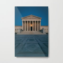 Supreme Court 03 Metal Print