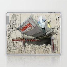 Times Square Sketch, Subway sketch, New York Laptop & iPad Skin