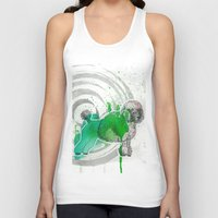 poodle Tank Tops featuring Poodle by Pfirsichfuchs