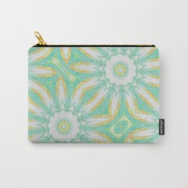 Citrus Mandala Repeat Carry-All Pouch