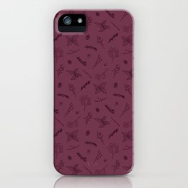 Herbs and Berries iPhone Case