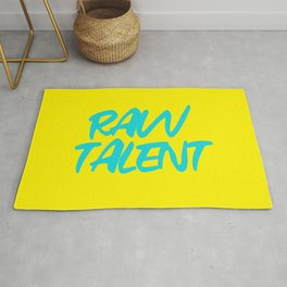 RAW TALENT by Kimberly J Graphics Rug