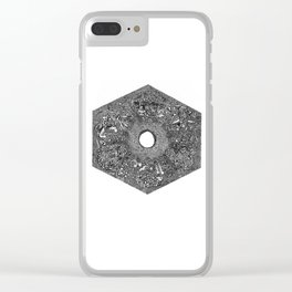 Souls of Lost Faces Clear iPhone Case