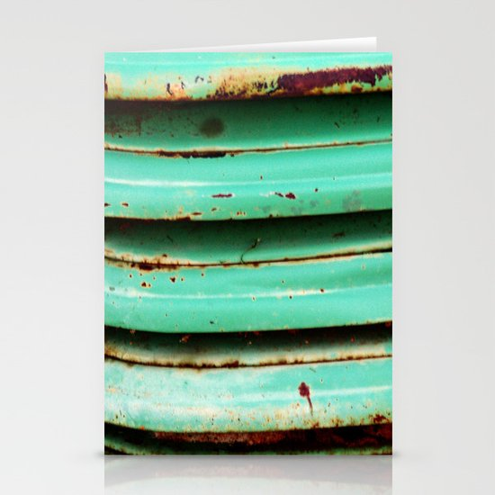 Rusty Teal Stationery Cards