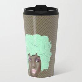 emogirl earth Travel Mug