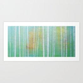 """Bamboo"" Art Print"