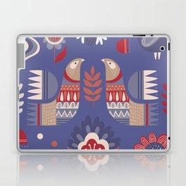 BIRDS AND FLOWERS Laptop & iPad Skin