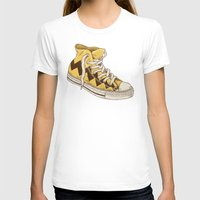 chuck T-shirts featuring Chuck by Terry Fan