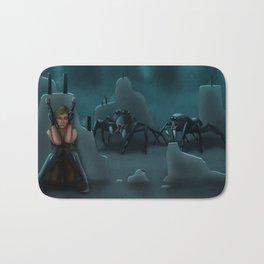 Arachnophobia Bath Mat