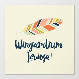 Wingardium leviosa! Canvas Print