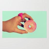 sprinkles Area & Throw Rugs featuring Sprinkles  by acmocks