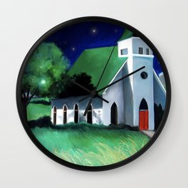 Church in Egypt, WA Wall Clock
