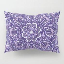 Great Purple Mandala Pillow Sham