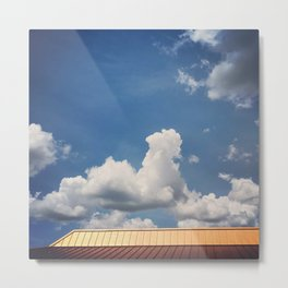 Minimalist Rooftop Metal Print