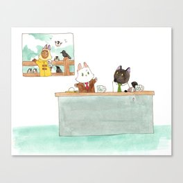 The Weather Report Canvas Print