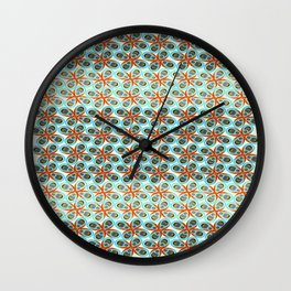 Westworks in Oysters and Pearls Wall Clock