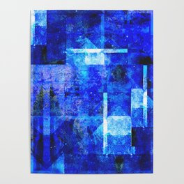 Sapphire Nebulæ Poster