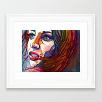 courage Framed Art Prints featuring Courage by D. Renee Wilson
