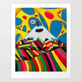 Cotopaxi I Art Print