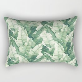Banana leaves II Rectangular Pillow