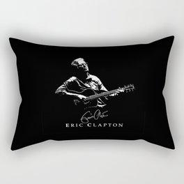 2 Eric Clapton - rock-blues-music -  Strato Rectangular Pillow