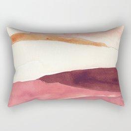 Abstract Love, Peace and Hope, Contemporary Fine Art Rectangular Pillow