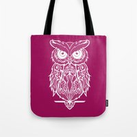 merlin Tote Bags featuring Merlin by curlie
