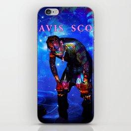 travis astroworld tour 2019 merah iPhone Skin