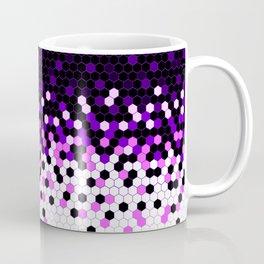 Flat Tech Camouflage Reverse Purple Coffee Mug