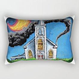 Fuel for the Fire Rectangular Pillow