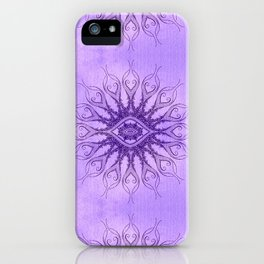 Sacred Geometry  Mark Day  iPhone Case