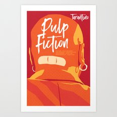 Quentin Tarantino's Plot Movers :: Pulp Fiction Art Print
