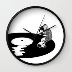 Don't Just Listen, Feel It Wall Clock