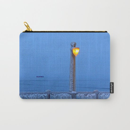 Frosted Light and Ship Carry-All Pouch