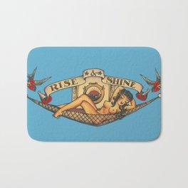 A Sailor's tattoo Bath Mat