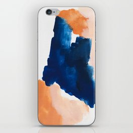 thursday afternoon: abstract painting iPhone Skin