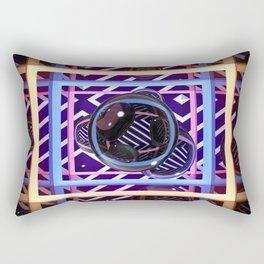 Abstract Box Rectangular Pillow