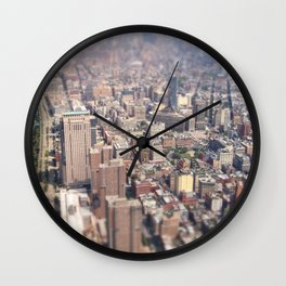 Tiny City - New York City Wall Clock