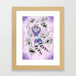 Spook Conjurer Framed Art Print