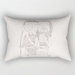 Chirrut and Baze Rectangular Pillow