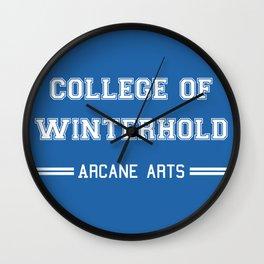 College of Winterhold Wall Clock