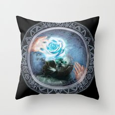 The Unknown Journey Throw Pillow