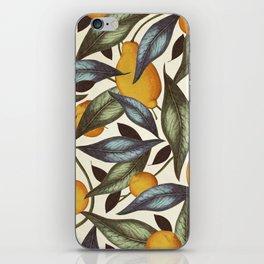Lemons, Oranges & Pears iPhone Skin
