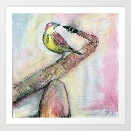 Charlie Larker Art Print