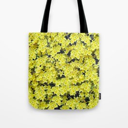 Happy Forsythia Tote Bag