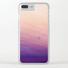 Little planet Clear iPhone Case