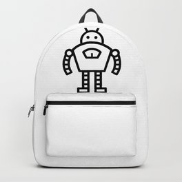 Tough Robot Icon Backpack