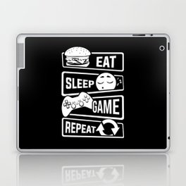 Eat Sleep Game Repeat | Video Game Console Gaming Laptop & iPad Skin